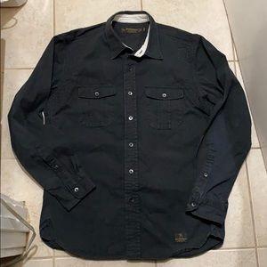 Neighborhood Tokyo Black Button Up Shirt